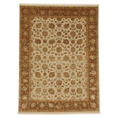 Jaipur Rugs Inc. Aurora 6 x 9 Nephi Medium Ivory/Deep Camel Area Rugs