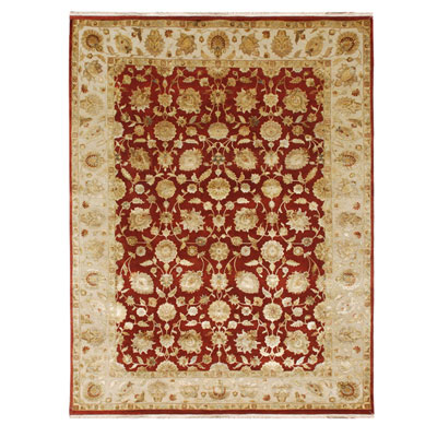 Jaipur Rugs Inc. Aurora 6 x 9 Nephi Medium Red/Medium Ivory Area Rugs