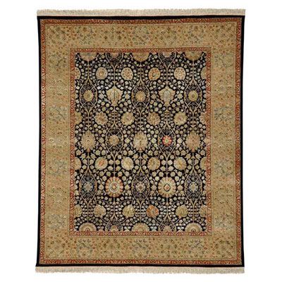 Jaipur Rugs Inc. Aurora 6 x 9 Isabel Ebony/Light Sand Area Rugs