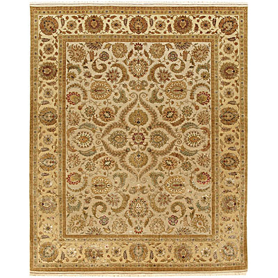 Jaipur Rugs Inc. Aurora 6 x 9 Kaimi Medium Ivory/Light Gold Area Rugs