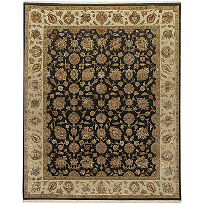 Jaipur Rugs Inc. Aurora 10 x 14 Nephi Ebony Light Gold Area Rugs