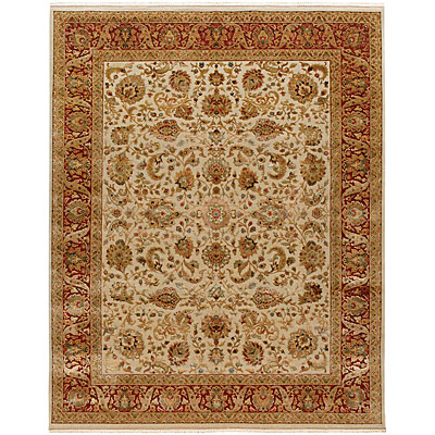 Jaipur Rugs Inc. Aurora 6 x 9 Sonja Medium Ivory Red Area Rugs