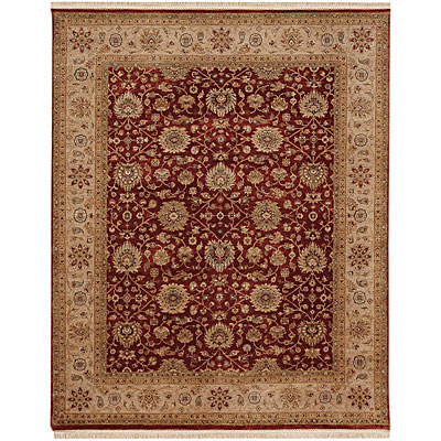 Jaipur Rugs Inc. Biscayne 9 x 12 Tessa Brick Red/Beige Area Rugs