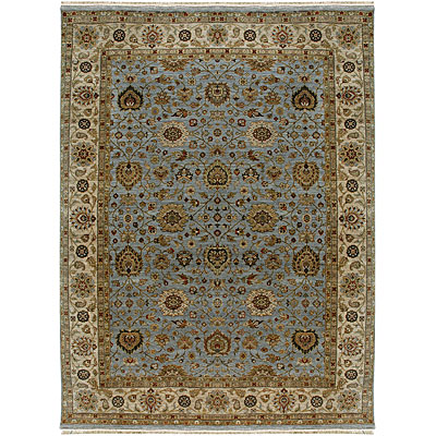 Jaipur Rugs Inc. Biscayne 8 x 10 Tessa Soft Blue Dark Ivory Area Rugs