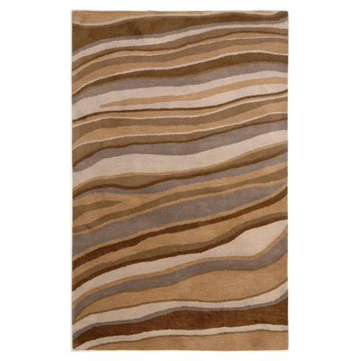 Jaipur Rugs Inc. Coastal Living Hand-Tufted 4 x 6 Dunes Drift Oyster/Oyster Area Rugs