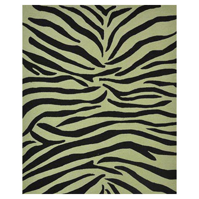 Jaipur Rugs Inc. Coastal Living Indoor-Outdoor 8 x 10 Party Lines Ebony/White Area Rugs