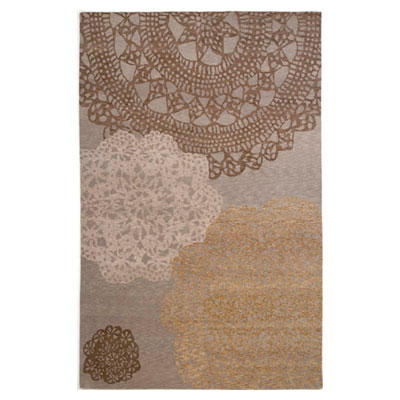 Jaipur Rugs Inc. Earth 10 x 14 Crystalline Silver/Silver Area Rugs