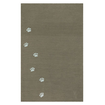 Jaipur Rugs Inc. Grant Design Indoor/Outdoor 5 x 8 Sidetracks Cocoa Brown/Cocoa Brown Area Rugs