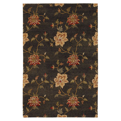 Jaipur Rugs Inc. J2 6 x 9 Frangi Deep Charcoal/Bronze Green Area Rugs
