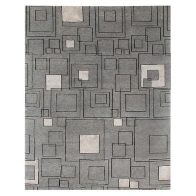 Jaipur Rugs Inc. J2 10 x 14 Jali Medium Gray/Ebony Area Rugs