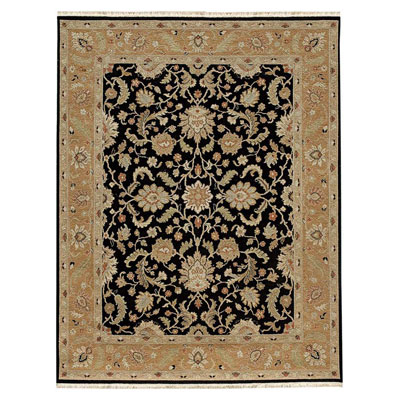 Jaipur Rugs Inc. Jaimak 9 x 12 Lerik Ebony/Ginger Brown Area Rugs