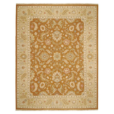 Jaipur Rugs Inc. Jaimak 9 x 12 Lerik Ginger Brown/Sand Area Rugs