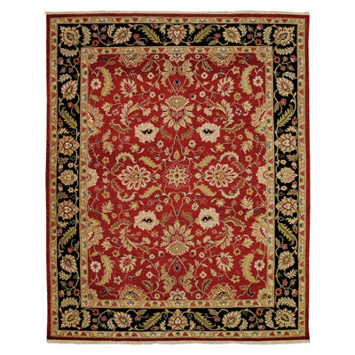 Jaipur Rugs Inc. Jaimak 10 x 14 Lerik Red/Ebony Area Rugs