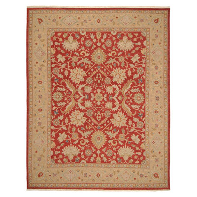 Jaipur Rugs Inc. Jaimak 9 x 12 Kolos Red Maize Area Rugs