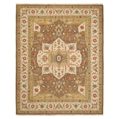Jaipur Rugs Inc. Jaimak 9 x 12 Lachin Cocoa Brown/Soft Gold Area Rugs
