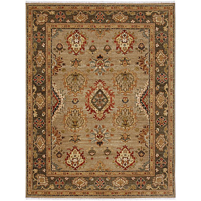 Jaipur Rugs Inc. Lassen Park 10 x 14 Trident Lead Gray/Mushroom Area Rugs