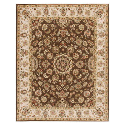 Jaipur Rugs Inc. Mythos 12 x 18 Maia Cocoa Brown/Dark Ivory Area Rugs