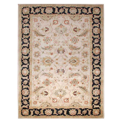 Jaipur Rugs Inc. Mythos 12 x 18 Selene Beige/Ebony Area Rugs
