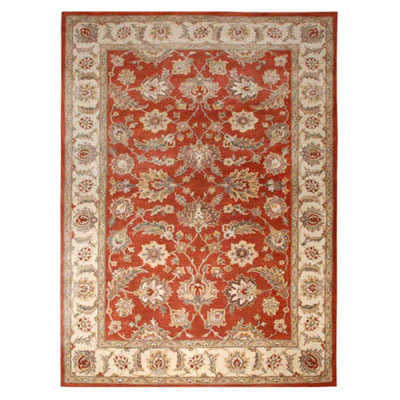 Jaipur Rugs Inc. Mythos 12 x 18 Selene Red Oxide/Sand Area Rugs