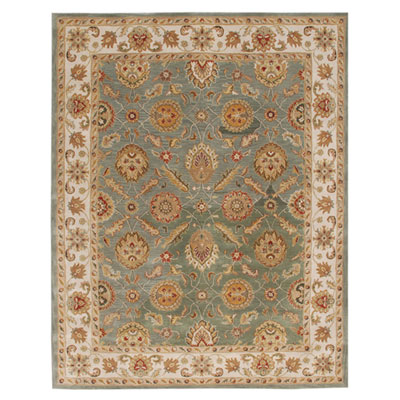 Jaipur Rugs Inc. Mythos 12 x 18 Callisto Sea Green/Light Gold Area Rugs