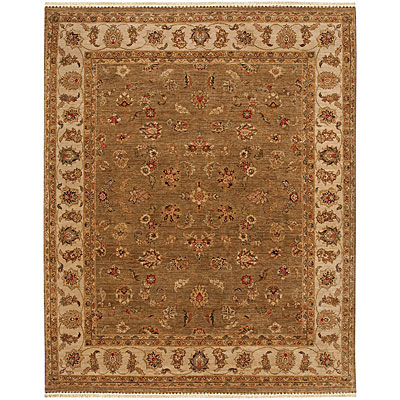 Jaipur Rugs Inc. Opus 6 x 9 Caymus Gray Brown/Soft Gold Area Rugs