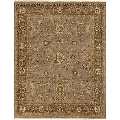 Jaipur Rugs Inc. Opus 6 x 9 Fleur Lead Gray/Gray Brown Area Rugs