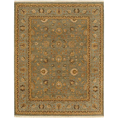 Jaipur Rugs Inc. Opus 6 x 9 Gigue Sea Green/Blue Area Rugs