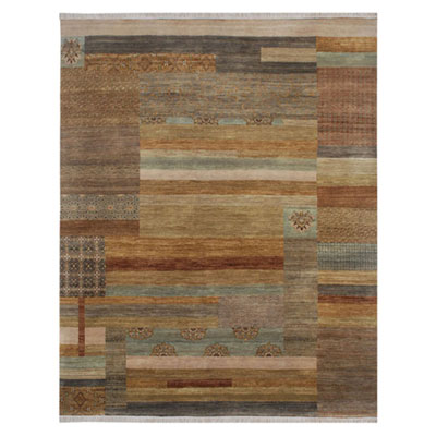 Jaipur Rugs Inc. Opus 8 x 10 Staccato Gray Brown/Honey Gold Area Rugs