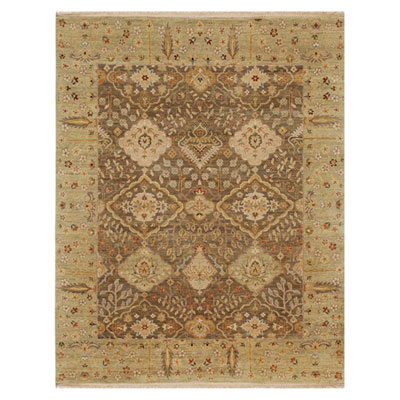 Jaipur Rugs Inc. Opus 10 x 14 Allegro Gray Brown/Sage Green Area Rugs
