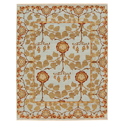 Jaipur Rugs Inc. Opus 10 x 14 Tree of Life Sky Blue/Sky Blue Area Rugs