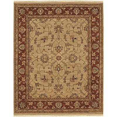 Jaipur Rugs Inc. Opus 9 x 12 Opera Soft Gold/Burnt Red Area Rugs