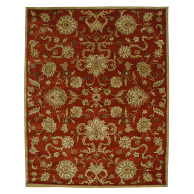 Jaipur Rugs Inc. Poeme 10 x 14 Marseille Red Oxide/Tan Area Rugs
