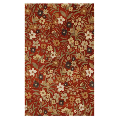 Jaipur Rugs Inc. Poeme 10 x 14 Toulouse Red Oxide/Red Oxide Area Rugs