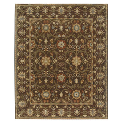 Jaipur Rugs Inc. Poeme 8 x 11 Rennes Cocoa Brown/Cocoa Brown Area Rugs