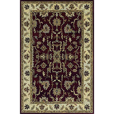 Kaleen Picks 10 Round Dyches Burgundy Area Rugs