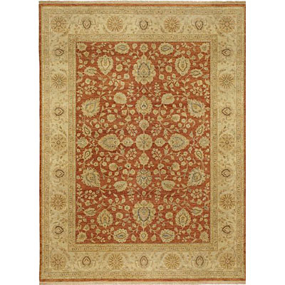 Kaleen Royal Signature 8 Round Demonte Rust Area Rugs