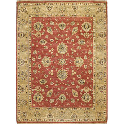 Kaleen Royal Signature 8 x 10 Ganesh Red Area Rugs