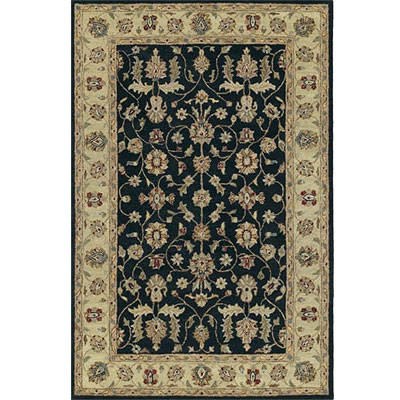 Kaleen Taxila 8 x 10 Shubra Black Area Rugs