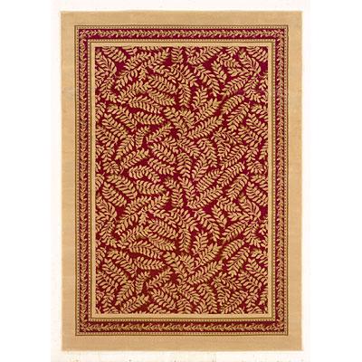 Kane Carpet American Dream 5 x 8 Enchanting Berry Cream Area Rugs