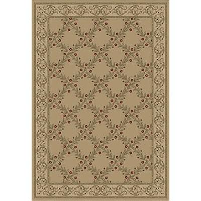 Kane Carpet Elegance 5 x 8 Incredible Quiet Gold Area Rugs