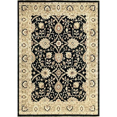 Loloi Rugs Majestic 9 x 12 Black Ivory Area Rugs