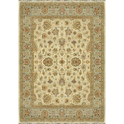 Loloi Rugs Majestic 8 Round Ivory Blue Area Rugs