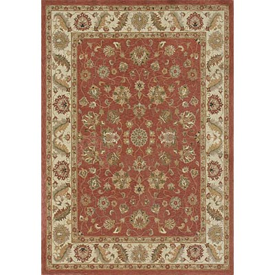 Loloi Rugs Rosewood 9 x 13 Dusty Red Ivory Area Rugs