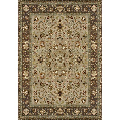 Loloi Rugs Yorkshire 8 Round Beige Brown Area Rugs