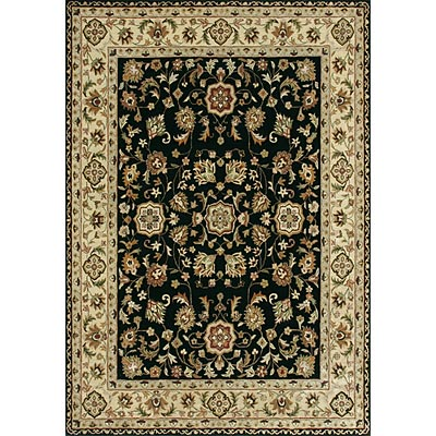 Loloi Rugs Yorkshire 12 x 15 Black Ivory Area Rugs