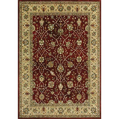Loloi Rugs Yorkshire 8 x 11 Red Light Gold Area Rugs