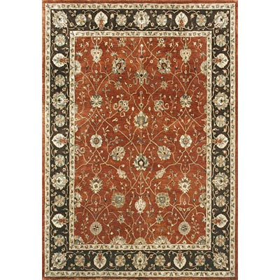 Loloi Rugs Yorkshire 8 x 11 Rust Expresso Area Rugs