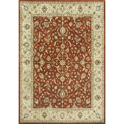 Loloi Rugs Yorkshire 8 x 11 Rust Light Gold Area Rugs