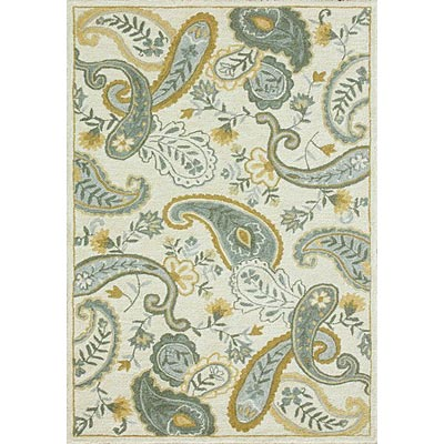 Loloi Rugs Chelsy 8 x 11 Ivory Blue Area Rugs