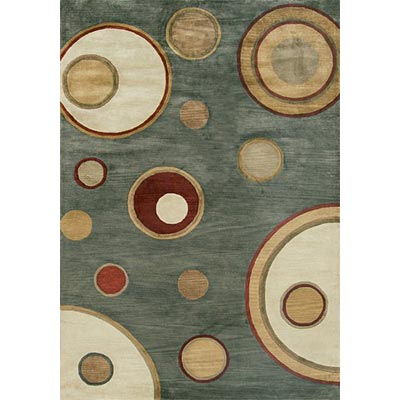 Loloi Rugs Crescent 8 x 11 Blue Ivory Area Rugs